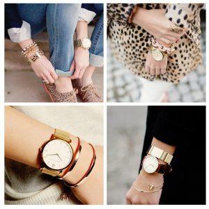 Mẹo mix đồng hồ cho nữ theo phong cách.
