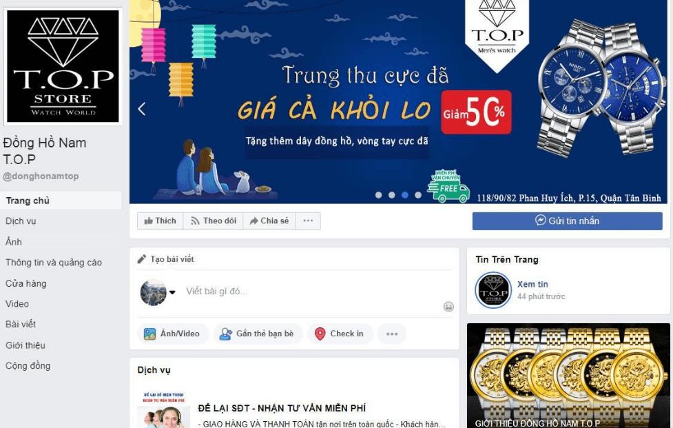 Chú ý xây dựng hình ảnh trên facebook