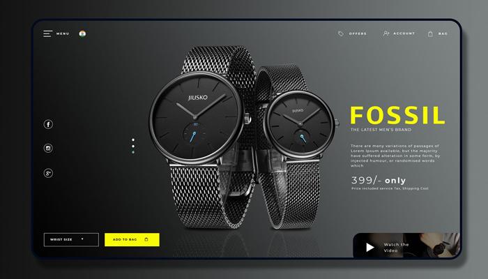 Lợi ích khi thiết kế trang web bán đồng hồ chuyên nghiệp