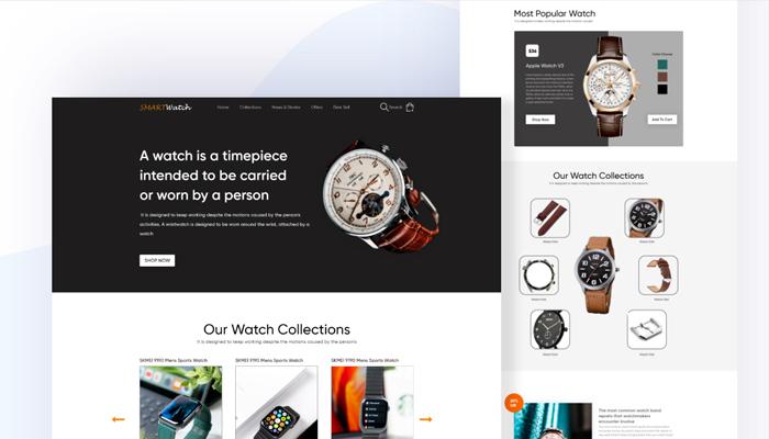 Những lưu ý khi thiết kế web bán đồng hồ chuyên nghiệp